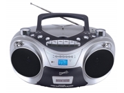 Supersonic SC709 Portable MP3-CD Player with Cassette Recorder, AM-FM Radio and USB