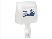 Kimberly-Clark 91594 KLEENEX Skin Cleanser Refill, Antibacterial, 1200 mL, 2/Carton