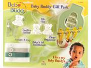 Baby Buddy Gift Pack - Blister Card Sage - Pack of 6