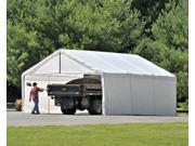 ShelterLogic 27277 24x50 White Canopy Enclosure Kit