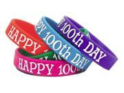 Teacher Created Resources 6568 Happy 100th Day Wristbands