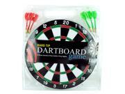 Dartboard game with darts - Pack of 6