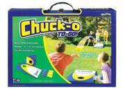 POOF-Slinky 0X0735 Ideal Chuck-O To-Go Classic Bean Bag Toss Game with Portable Fold and Lock Wooden Gameboard Platforms