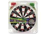 Dartboard with 6 darts - Pack of 8