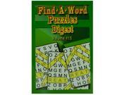 Big print find a word puzzle - Case of 48