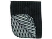 Kay Dee Designs R0789 Black Dishcloths 2 Count - Pack of 3