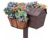 Plastec Products MFGB-CM Mailbox Flower Garden