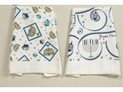 Rite Lite TXH-FT Chanukah Fingertip Towel Set - Assorted Designs - Pack Of 6