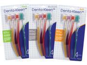 Bulk Buys 4-Pk. Adult Toothbrushes - Case of 144