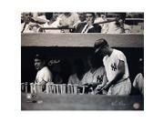 Steiner Sports BERRPHS016001 Yogi Berra in Dugout with Roger Maris B&W Horizontal 16x20 Photo - Signed by Regan - MLB Auth