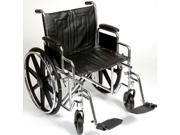 Roscoe Medical K72218DHRSA K7-Lite Wheelchair, Silver vein