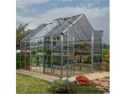Poly-Tex HG8004 Snap and Grow 8 ft. x 4 ft. Greenhouse - Silver