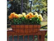 Griffith Creek Designs 8220 24 in. Newport Over the Rail Planter for 2 in. X 6 in. Rail