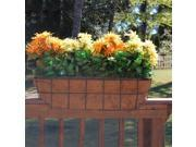 Griffith Creek Designs 8225 30 in. Newport Over the Rail Planter for 2 in. X 6 in. Rail
