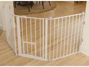 Carlson 1510PW Flexi Walk-Thru Gate with Pet Door