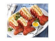 Lobster Gram M8T6 SIX 8-10 OZ MAINE LOBSTER TAILS