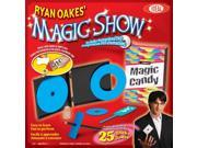 POOF-Slinky 0C325 Ideal Ryan Oakes' 25-Trick Magic Show with Magic Candy Box and Instructional DVD