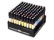 Chartpak AD100 Marker 100-Color Set with Caddy