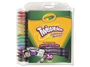 Crayola 687409 Twistables Colored Pencils, 30 Assorted Colors-Pack