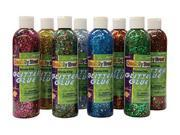 Chenille Kraft Company CK-8562 Glitter Chip Glue 8Pk Assortment