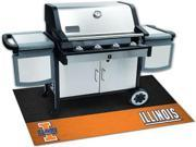 Fanmats 12119 University of Illinois Grill Mat 26 in. x 42 in.