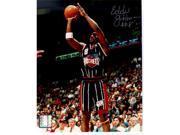Tristar Productions I0000479 Eddie Johnson Autographed Houston Rockets 8x10 Photo
