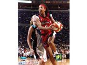 Tristar Productions I0001513 Janeth Arcain Autographed Houston Comets 8x10 Photo