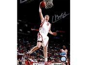 Tristar Productions I0021633 Chase Budinger Autographed Houston Rockets 8x10 Photo