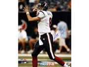 Tristar Productions I0016899 Matt Schaub Autographed Houston Texans 16 X 20 Photo