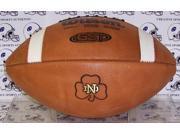 Creative Sports Enterprises WILSON-F1003-ND Notre Dame Fighting Irish Official Wilson NCAA Football