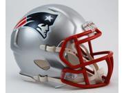 Creative Sports Enterprises, Inc RD-PATRIOTS-MR-Speed New England Patriots Riddell Speed Mini Football Helmet