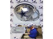 Creative Sports Enterprises, Inc AMHDC-RENFRO-HOFSB Mel Renfro Hand Signed Cowboys Mini Helmet