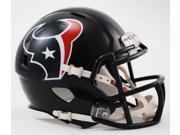 Creative Sports Enterprises, Inc RD-TEXANS-MR-Speed Houston Texans Riddell Speed Mini Football Helmet