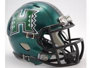 Creative Sports Enterprises, Inc RC-HAWAII-MR-Speed Hawaii Warriors Riddell Speed Mini Football Helmet
