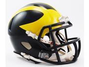 Creative Sports Enterprises, Inc RC-MICHIGAN-MR-Speed Michigan Wolverines Riddell Speed Mini Football Helmet
