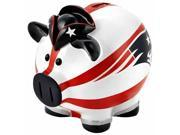 Forever Collectibles CD-8686705577 New England Patriots Thematic Piggy Bank - Large