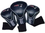 Team Golf TG-31794 New England Patriots Set of Three Contour Headcovers