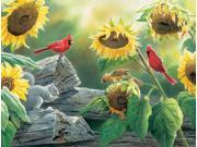 Outset Media Games Sunflower Buffet 500 piece Puzzle
