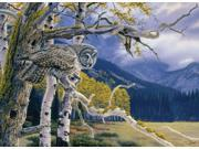 Outset Media Games Great Grey Owl 1000 piece Puzzle