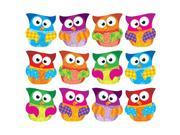 TREND ENTERPRISES INC. T-10617 OWL STARS CLIPS ACCENTS VARIETY