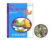Brown S F. M. Sons Cockatiel Nutrition Plus Food 22.5 Pounds - 44312