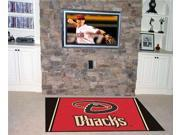Fanmats FM-07046 Arizona Diamondbacks 5 ft. x 8 ft. Rug