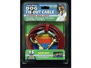 Four Paws Products Tieout Cable Silver 15 Feet - 84715
