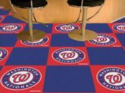 Fanmats FM-08601 Washington Nationals Carpet Tiles