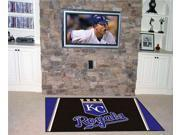 Fanmats FM-07064 Kansas City Royals 5 ft. x 8 ft. Rug