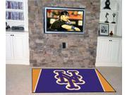 Fanmats FM-07072 New York Mets 5 ft. x 8 ft. Rug