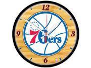 Wincraft WN-2907391 Philadelphia 76ers Wall Clock