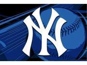 Northwest NW-1MLB331000020RET New York Yankees 40 x 60 Rug