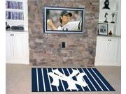 Fanmats FM-06962 New York Yankees 5 ft. x 8 ft. Rug