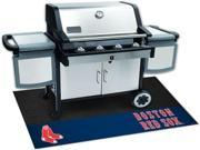 Fanmats FM-12147 Boston Red Sox Grill Mat